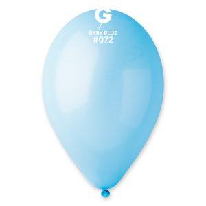 Baloane latex baby blue 26 cm