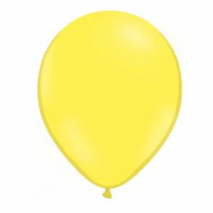 balon galben deschis 26 cm