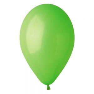 Baloane latex verde 26 cm