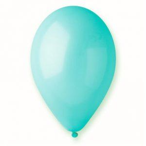 Baloane latex albastru deschis 26 cm