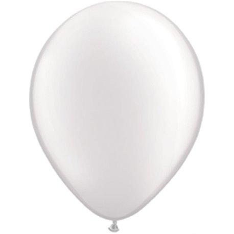 Baloane latex, alb, 26 cm (10 buc)