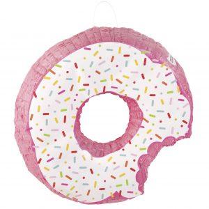 "Pinata ""Donut"", roz, 45 cm"