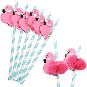 Set paie Flamingo, 12 bucati