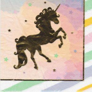 "Set servetele ""Unicorn""n20 de bucati 33x33 cm"