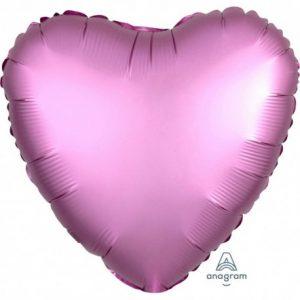 balon-stea-folie-45-cm-satin-flamingo-pink