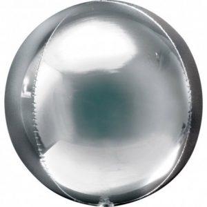 balon-folie-orbz-40-cm-silver