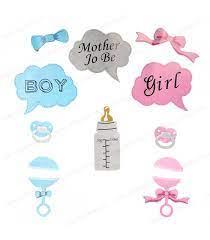 "Set 10 Sabloane Foto, Props ""Girl or Boy"""