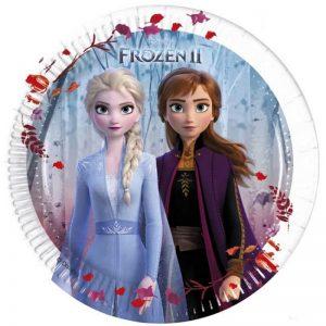 Set 6 farfurii party Frozen II 20 cm